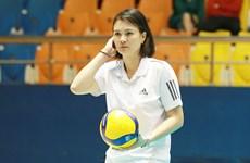 Hoa khôi Phạm Kim Huệ lên tiếng về lùm xùm chuyển nhượng bóng chuyền
