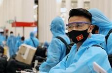 Toàn bộ thành viên đội tuyển Việt Nam âm tính với virus SARS-CoV-2