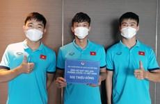 Đội tuyển Việt Nam ủng hộ 300 triệu tới Quỹ vaccine phòng chống dịch