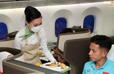 Đội tuyển Việt Nam về nước an toàn, sẵn sàng cách ly tại TP.HCM