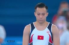 Thể dục dụng cụ Việt Nam nói lời chia tay với Olympic Tokyo 2020