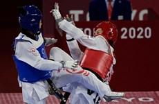 VĐV Kim Tuyền dễ dàng vào tứ kết Taekwondo ở Olympic Tokyo 2020