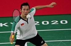 Olympic Tokyo 2020: Nguyễn Tiến Minh thua tay vợt số 3 thế giới