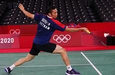 Tay vợt Nguyễn Tiến Minh dừng bước ở Olympic Tokyo 2020