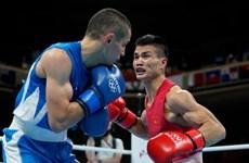 Olympic Tokyo 2020: Võ sĩ Nguyễn Văn Đương thua tay đấm số 3 thế giới