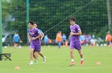 Tuyển Việt Nam bắt đầu tập luyện cho vòng loại thứ ba World Cup 2022