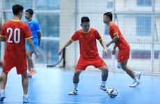 Đội tuyển futsal Việt Nam 'chạy nước rút' cho FIFA World Cup 2021
