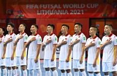 Xem lại chiến thắng đầu tiên của futsal Việt Nam tại World Cup 2021