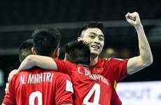 Lịch trực tiếp vòng 1/8 Futsal World Cup: Việt Nam đối đầu Á quân Nga