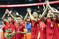 Tuyển futsal Việt Nam nhận thưởng 1 tỷ đồng sau thành tích ấn tượng