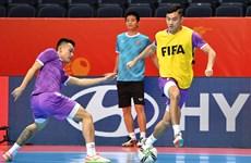 Tuyển futsal Việt Nam bất lợi trước trận gặp Nga ở vòng 1/8 World Cup