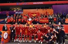 Tuyển futsal Việt Nam nói gì khi phải dừng bước ở Futsal World Cup?