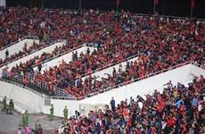 Đội tuyển Việt Nam được tiếp thêm sức mạnh ở trận gặp Nhật Bản