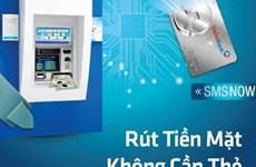 Ra mắt dịch vụ rút tiền tại ATM không cần thẻ