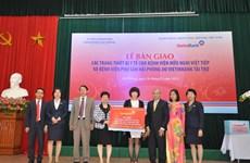 VietinBank tặng thiết bị y tế cho bệnh viện ở Hải Phòng