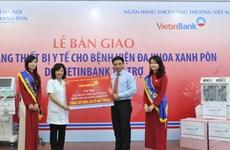Bệnh viện Xanh Pôn tiếp nhận thiết bị y tế gần 25 tỷ đồng