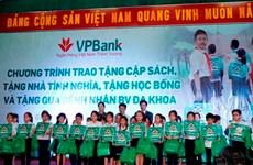 VPBank chắp cánh ước mơ đến trường cho các em học sinh