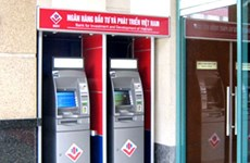 Thẻ JCB được chấp nhận thanh toán trên máy ATM và POS của BIDV
