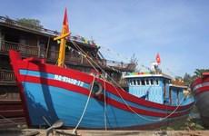 Nghệ An: Tàu cá đầu tiên đóng theo Nghị định 67 chuẩn bị ra khơi