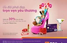 TPBank ưu đãi tới 30% nhân ngày Phụ nữ Việt Nam
