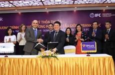 IFC cung cấp 10 triệu USD cho TPBank hỗ trợ doanh nghiệp