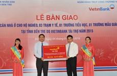 VietinBank trao tài trợ 30 tỷ đồng an sinh xã hội tại tỉnh Bến Tre