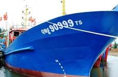 Vietcombank Quảng Ngãi bàn giao tàu vỏ thép cho ngư dân vay vốn