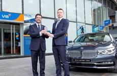 VIB cung cấp dịch vụ tài chính trọn gói cho khách hàng BMW