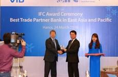 VIB nhận giải thưởng ngân hàng tài trợ tốt nhất khu vực Đông Á