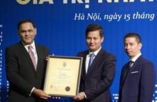 Ngân hàng duy nhất vào tốp 10 thương hiệu giá trị Việt Nam