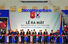 Ngân hàng Nonghyup Hàn Quốc thành lập chi nhánh tại Hà Nội
