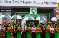 Vietcombank Phú Yên khai trương phòng giao dịch Sông Hinh