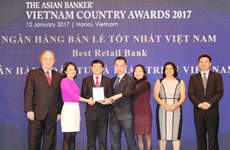 BIDV nhận giải ngân hàng bán lẻ tốt nhất Việt Nam từ The Asian Banker