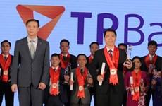 Ngân hàng Tiên Phong nhận giải thưởng Thương hiệu mạnh Việt Nam