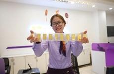 Giá vàng SJC và Bảo Tín Minh Châu giảm từ 40.000-100.000 đồng