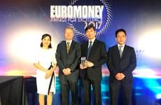 Ngân hàng duy nhất của Việt Nam được Euromoney trao giải tốt nhất