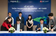 NAPAS và BC Card hợp tác phát triển thanh toán không dùng tiền mặt