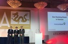 Ngân hàng Ngoại thương Việt Nam nhận giải thưởng của Asiamoney