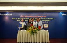 Sacombank hợp tác với VAMC xử lý và thu hồi 20.000 tỷ đồng nợ xấu
