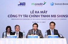 Ra mắt Công ty Tài chính MB Shinsei thương hiệu Mcredit