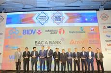 Trao 9 hạng mục giải thưởng Ngân hàng tiêu biểu tại Việt Nam năm 2017