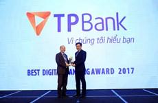 TPBank được bình chọn Ngân hàng số xuất sắc nhất năm 2017