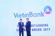 """VietinBank nhận giải """"Ngân hàng Điện tử tiêu biểu nhất 2017"""""""