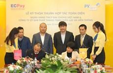 PVcomBank và ECPay hợp tác thu tiền điện và phát triển thẻ
