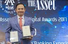 VIB nhận 2 giải thưởng quốc tế về ngân hàng số Digital Banking