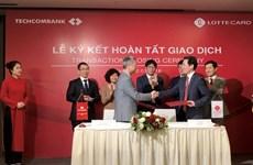Hoàn tất giao dịch chuyển nhượng Công ty Techcomfinance cho Hàn Quốc
