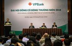 Tăng vốn điều lệ, VPBank trả cổ tức năm 2017 bằng cổ phiếu