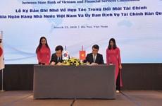 Ngân hàng Nhà nước và Hàn Quốc hợp tác trong đổi mới tài chính
