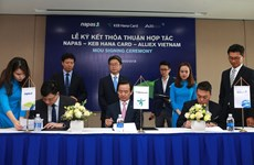 NAPAS và đối tác 'bắt tay' phát triển mạng lưới POS dùng chung