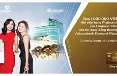 Ưu đãi dành cho chủ thẻ Vietcombank Diamond Plaza Visa
